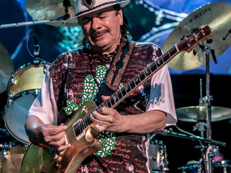 Santana Supernatural Now Tour Performance Blows This Reporter's Mind 08/09/19 at Ruoff Home Mortgage