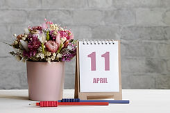 April 11. 11-th day of the month, calend