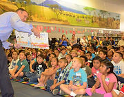 Mayor Rusty Bailey Reading with Students