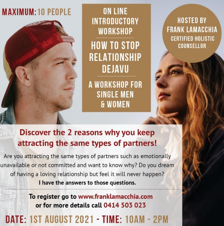 Online Workshop Relationship Singles