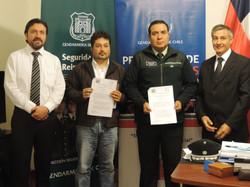 Convenio con Gendarmeria de Chile