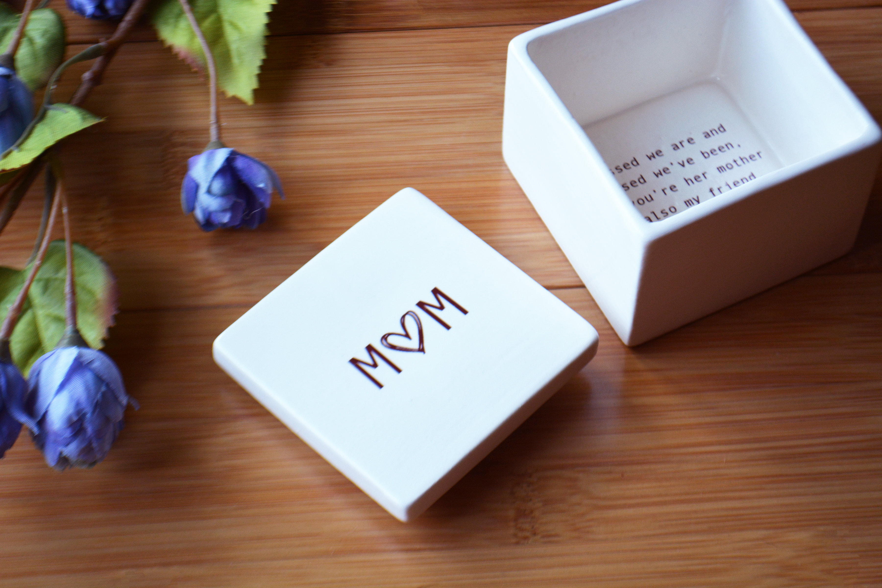 Gift Box Included Unique Mother In Law Gift Mother of The Groom Wedding Keepsake Box