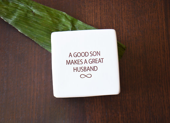 Mother or Father of the Groom Gift - In Law Wedding Keepsake Box