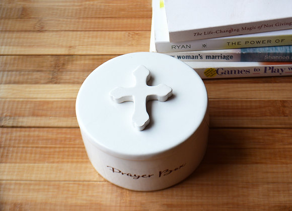 Prayer Box with Scripture - Spiritual Friendship Gift - Gift Box Included
