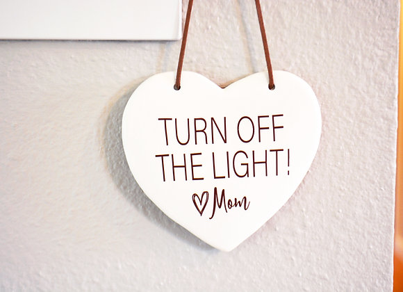 Funny Bathroom Sign - Custom Gift from Mom - Household Sign - Kids Room Decor