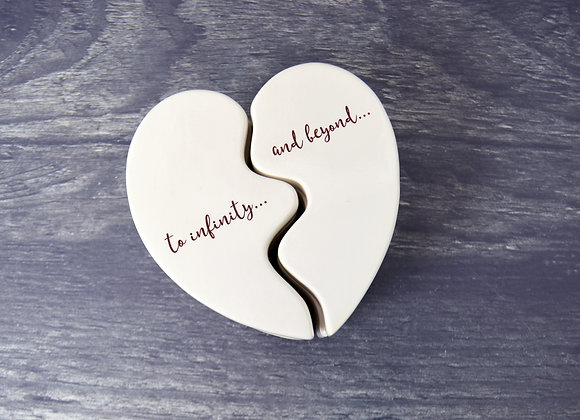 Best Friends Heart Box - Friendship Gift