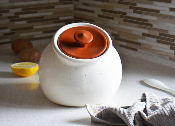 Large Cookie Jar with Lid - Personalized Cookie Jar - Cookie Holder