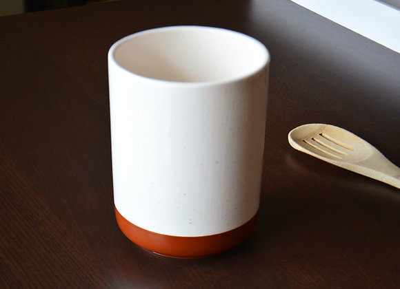 Large Utensil Holder - Ceramic Kitchen Utensil Holder - Spoon Holder