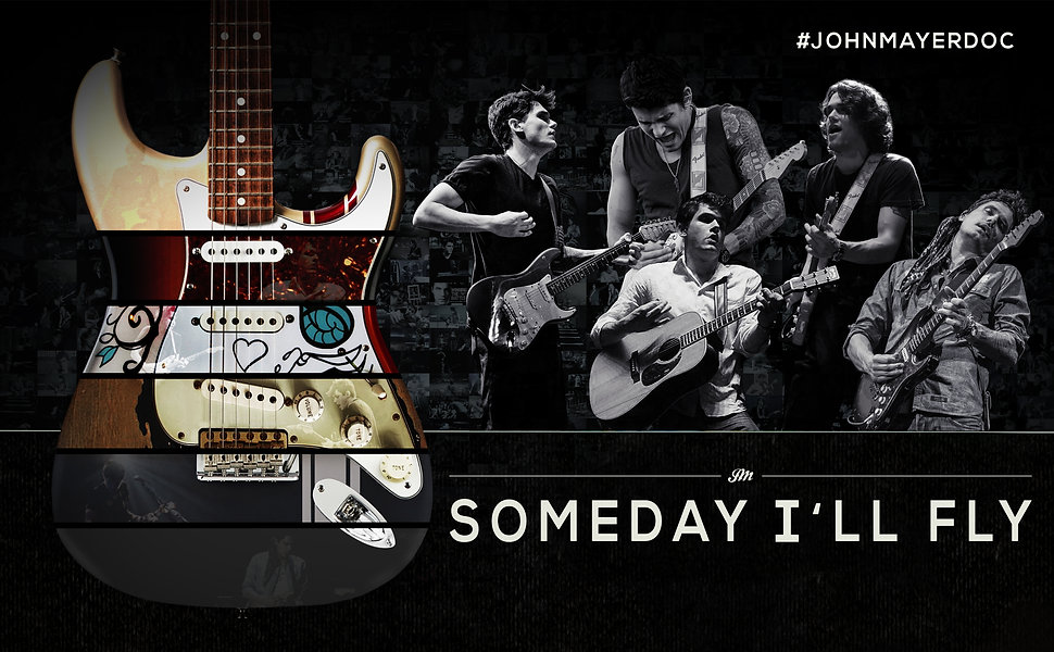 John Mayer - Someday I'll Fly Eastwood Allen Documentary Eras Poster