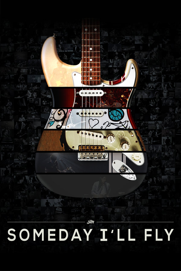 John Mayer - Someday I'll Fly Eastwood Allen Documentary Strat Guitar Poster