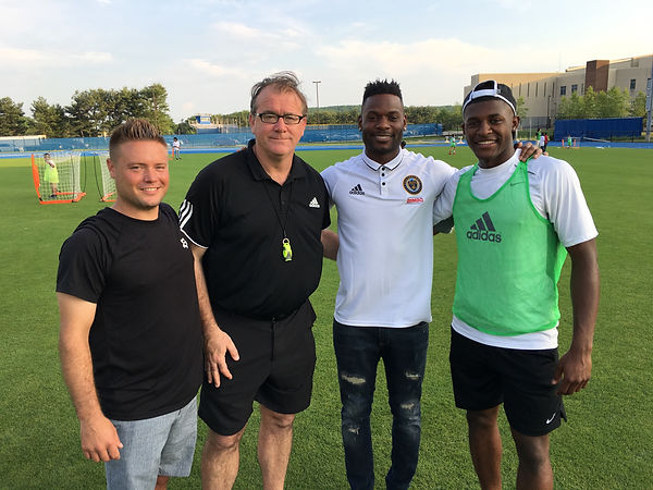Future Soccer Stars Foundation: City on the Pitch, Steve Cavalier, Ian Hennessy, Maurice Edu, Mark McKenzie