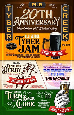 Tyber Creek 20 years celebration!