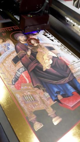 Печать икон