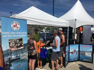 OASISS booth at BC Hydro Safety Rodeo