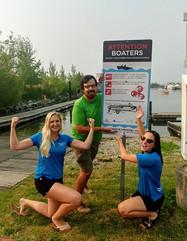 Aquatics team in 2018