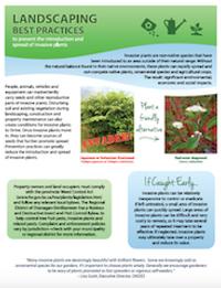 Landscaping Best Management Practices