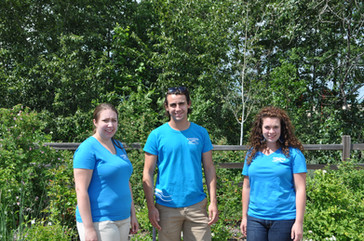 Aquatics team in 2015