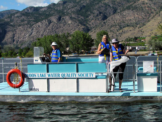 Osoyoos Lake Water Quality Society monitoring for invasive mussels