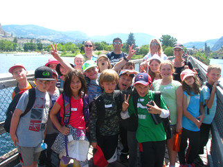 Grade 3 Wetland Tour in Okanagan Falls