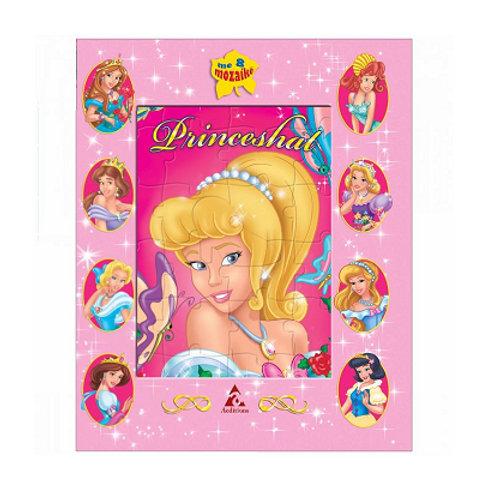 Princeshat - Libra të mëdhenj me mozaikë (3-6 vjeç)