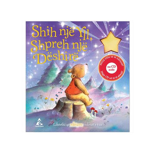 Shih një yll, shpreh një dëshirë - Libër i shoqëruar me audio CD (1-3 vjeç)