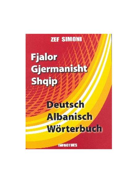 Fjalor Gjermanisht - Shqip,  Zef Simoni