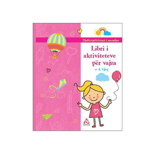 Libri i aktiviteteve për vajza -