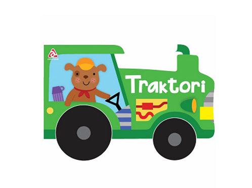 Traktori - Libër me rrota (1-3 vjeç)