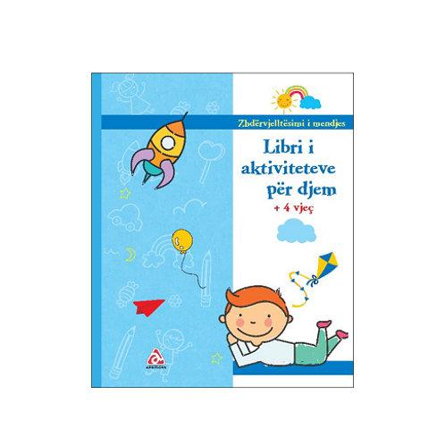 Libri i aktiviteteve për djem