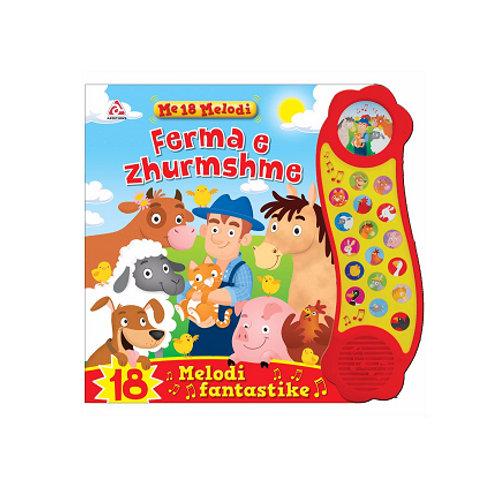 Ferma e zhurmshme - Libra me tinguj dhe prekje (0-3 vjeç)