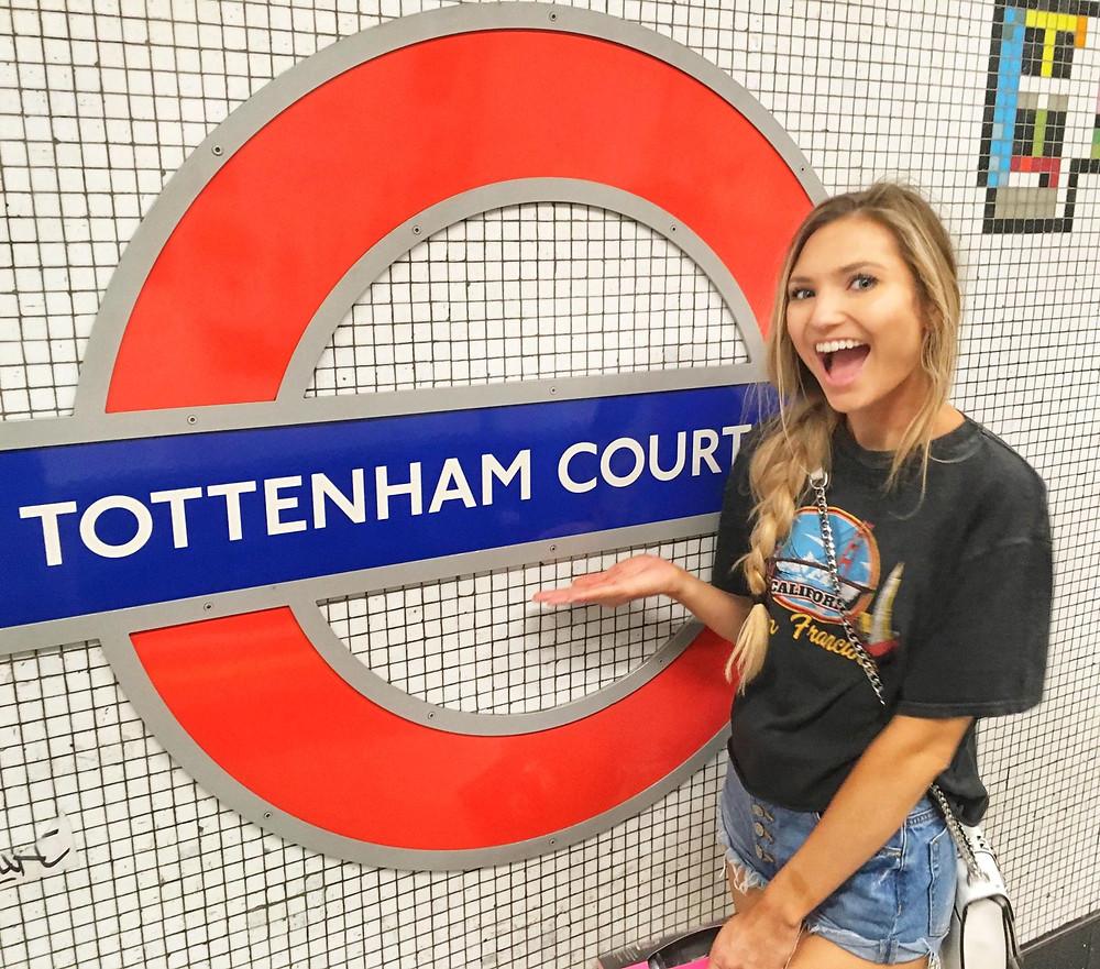 travel nurse and lifestyle blogger kirsten conrad tottenham court road