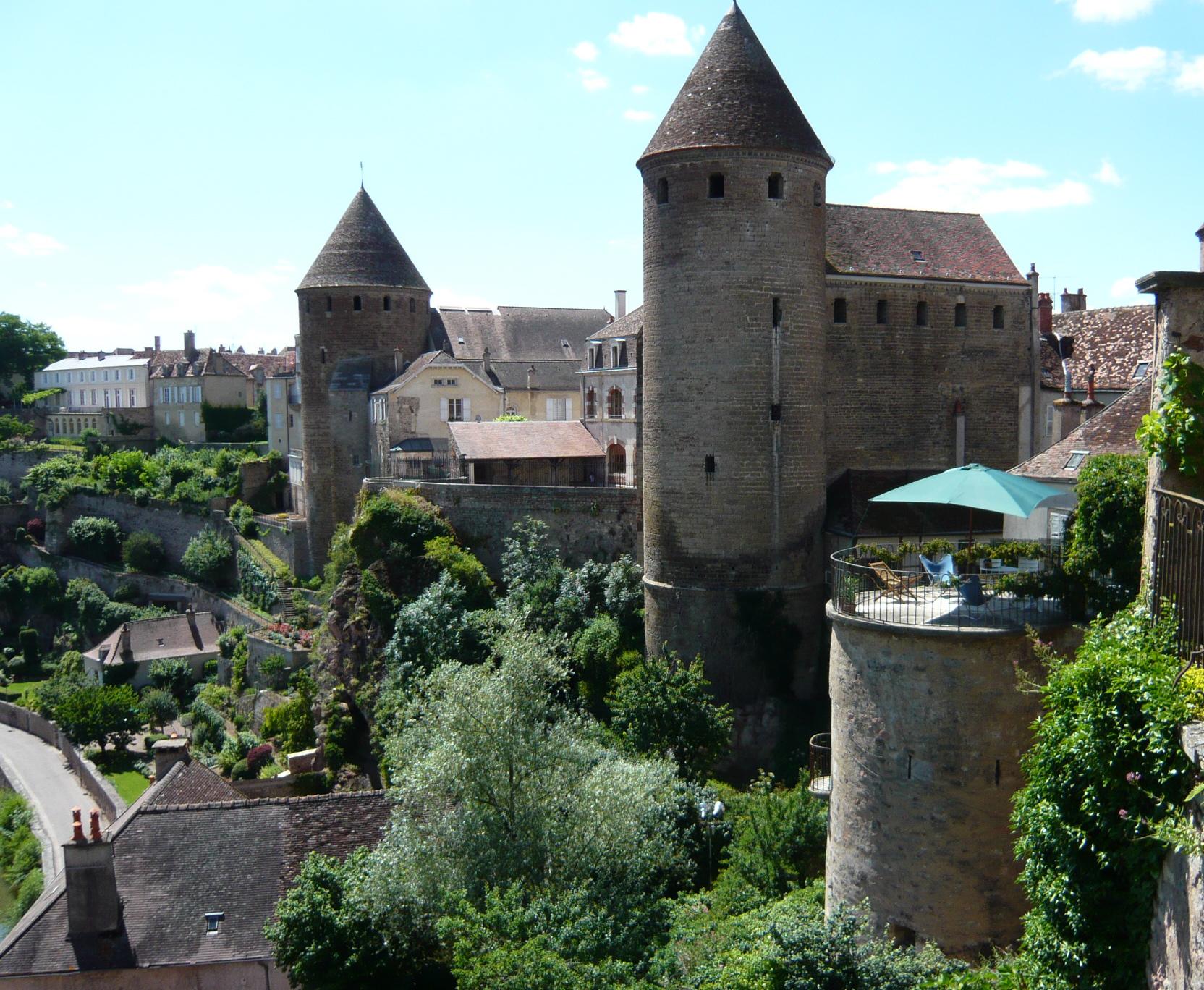 La tour-terrasse de la Maison Févret