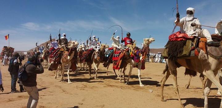Ici Au festival Saharien au Tchad avec 2