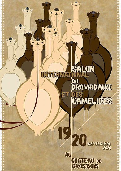 Affiche Salon international dromadaire 2