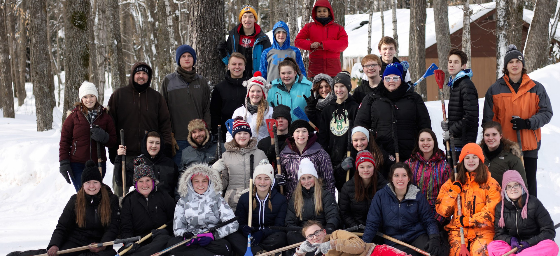 Winter Camp 2019 with middle & high school students