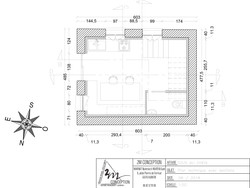PLAN SECTIONS - 2m conception