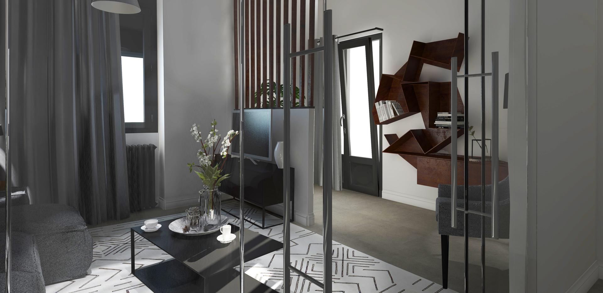 PETIT SALON #architecturedinterieur #dec