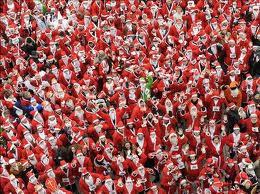 Santa Klaus Running 15-12-13