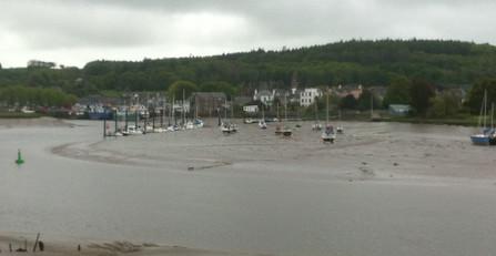 Kirkcudbright harbour