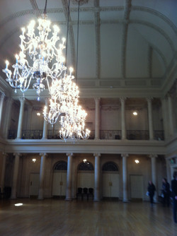 Inside the Assembly Rooms, Bath