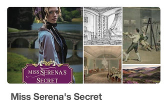 Miss Serena's Secret Pinterest page