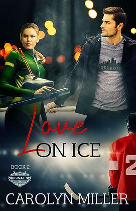 Love on Ice hockey romance book