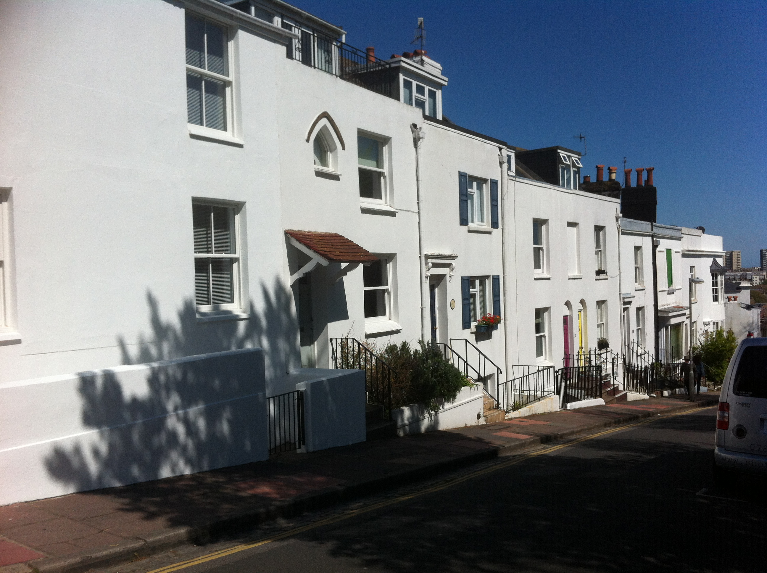 Regency-type houses in Brighton