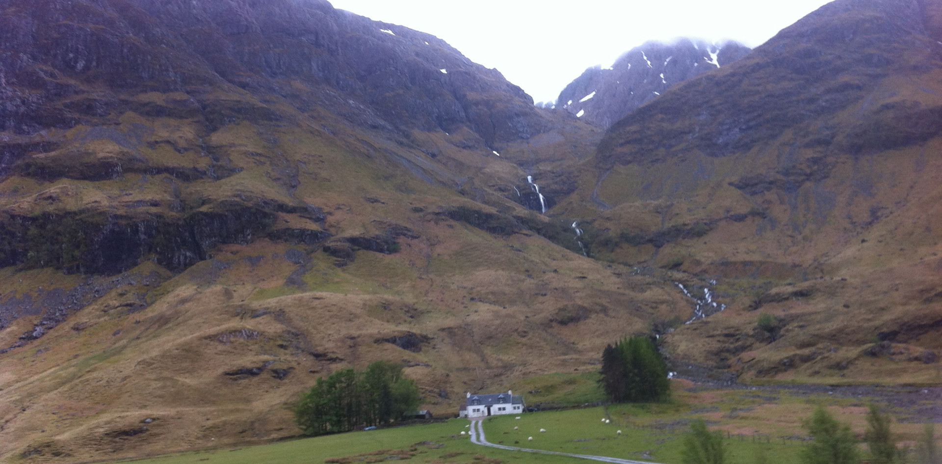Tiny Scottish cottage near Glencoe