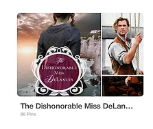 The Dishonourable Miss DeLancey Pinterest