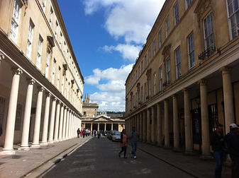Where Persuasion was filmed, Bath