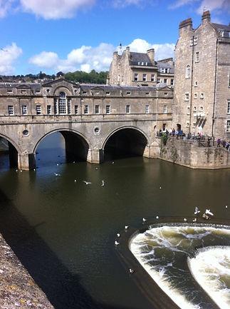 The Pulteney Bridge, Bath