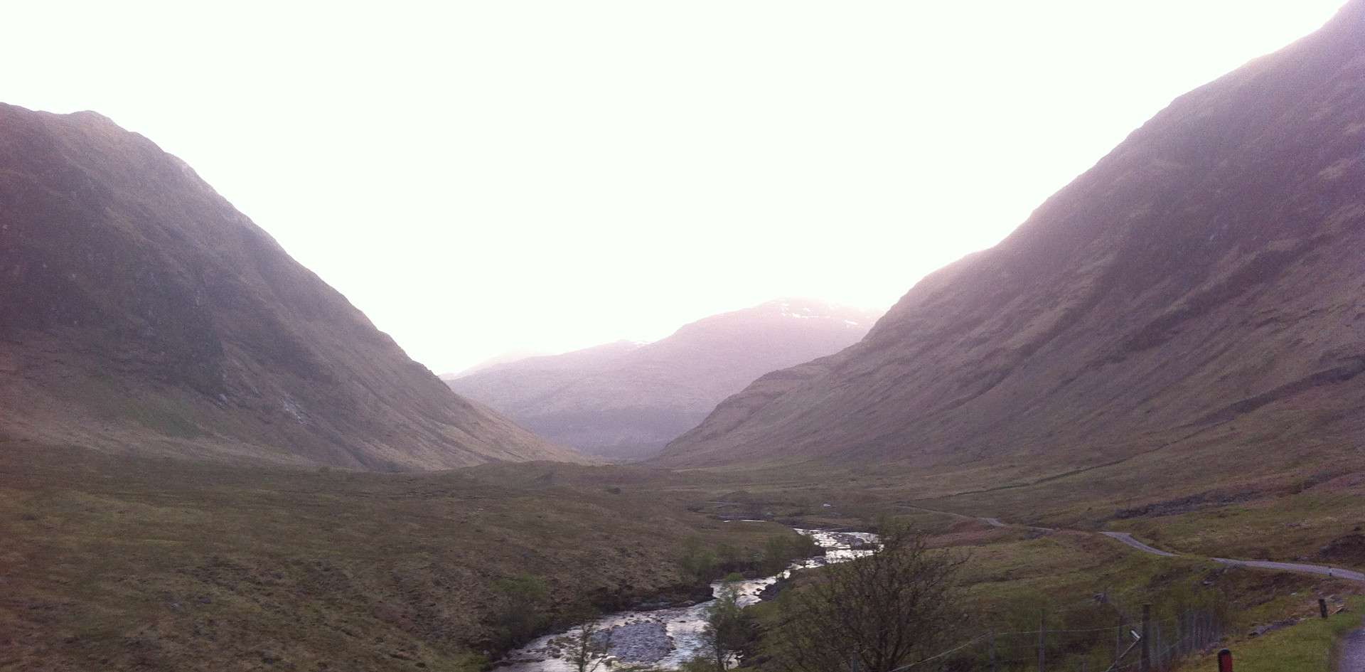 Skyfall country, near Glencoe