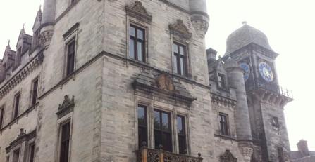 Dunrobin castle, near Golspie
