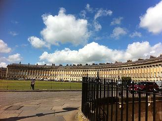 The Royal Crescent, Bath, England